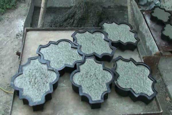 Изготовление тротуарной плитки в домашних условиях рецепт 244