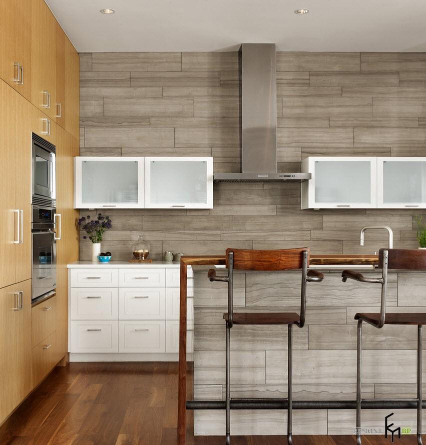 Affordable in precedenza il grembiule in cucina era realizzato con piastrelle di ceramica ma ora - Dielle piastrelle ...