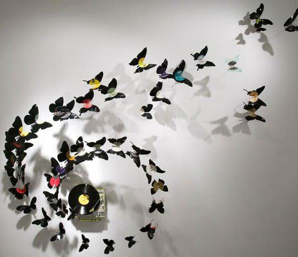 Sablona Motylu Pro Vyrezavani Na Zed Nastenna Vyzdoba S Motyly