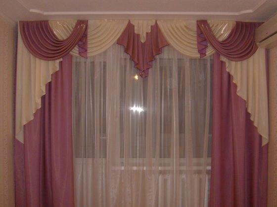 как оформить окно в зале только тюлью шторы в зал фото