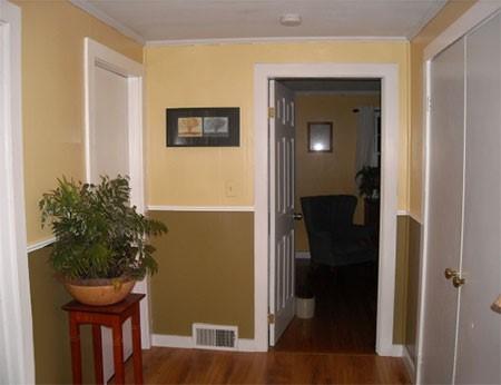 Tinteggiare Corridoio Lungo E Stretto : Corridoio di design nell appartamento interno del corridoio dell