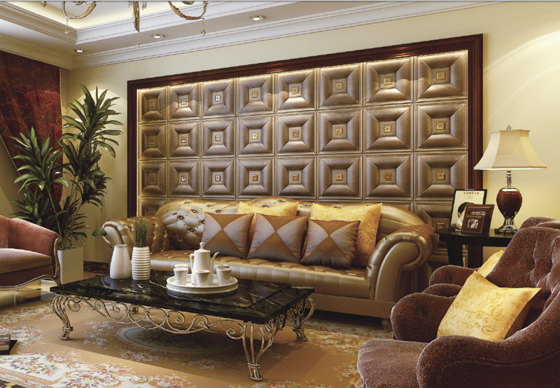 Wall panels for interior decoration, decorative panels for