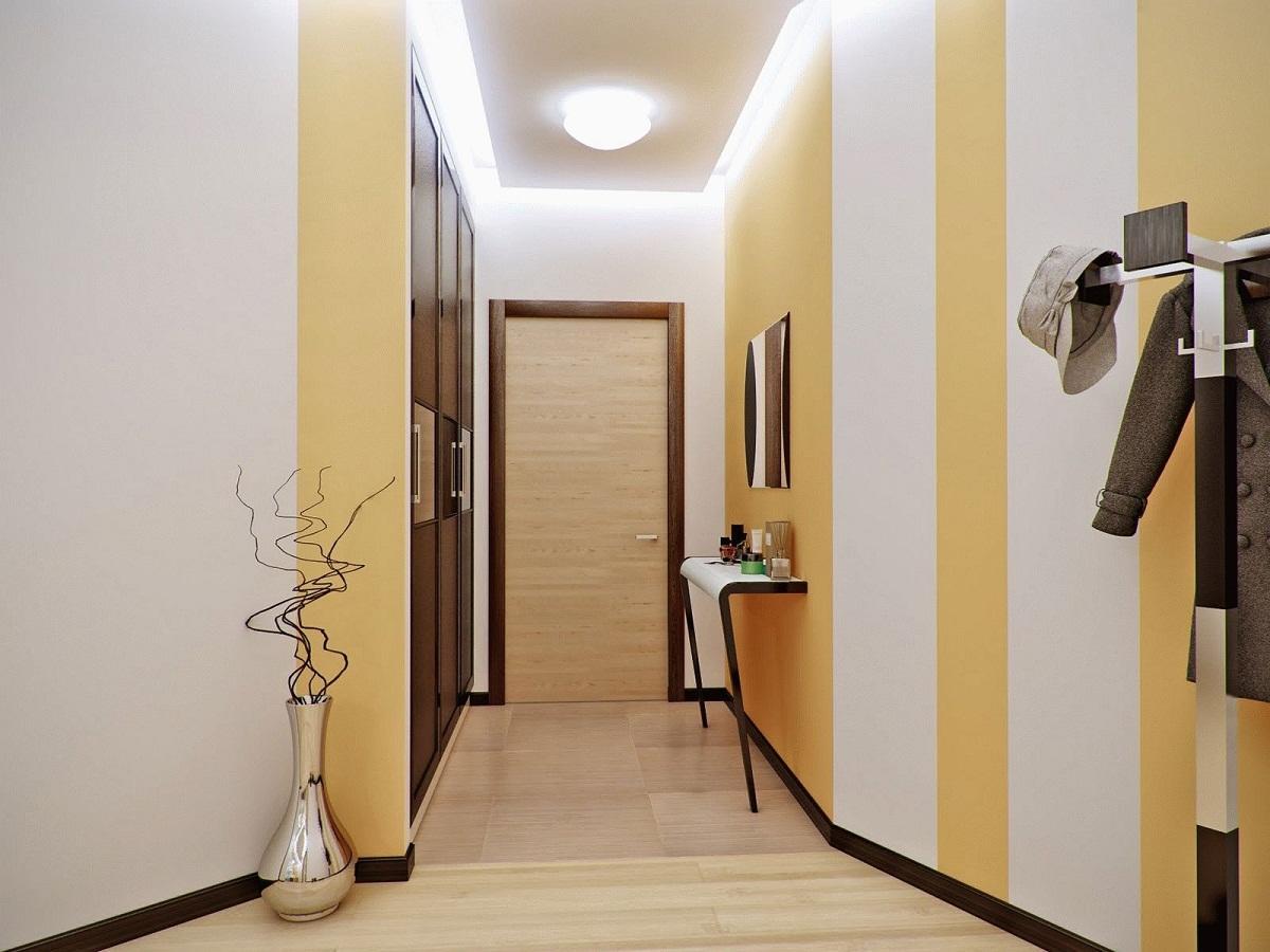 Tinteggiare Corridoio Lungo E Stretto : Soluzioni negli armadi stretti del corridoio mobili per un