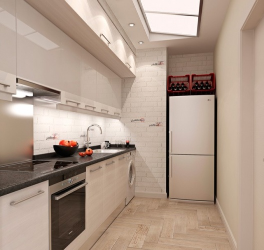 Se La Cucina è Di Dimensioni Normali, Ci Saranno Già Lampade Aggiuntive  Vicino A Zone Diverse: Sopra La Superficie Di Lavoro, Sopra La Stufa E Così  Via.