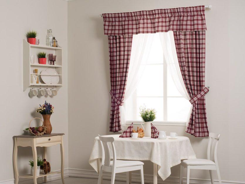 Tende Per Finestra Piccola : Brevi tende alla cucina cortine corte per il soggiorno decorare