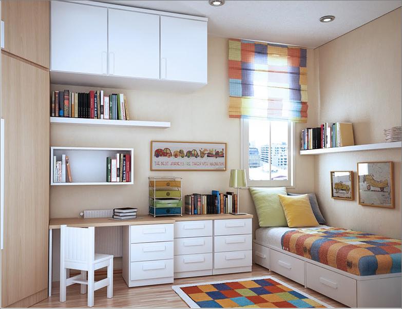 Modern Design Room For A Teenage Girl Bedroom