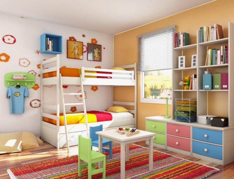 Jika Anda Menggabungkan Semua Warna Di Pedalaman Dengan Betul Berbanding Kertas Dinding Dan Perabot Boleh Menetapkan Kanak Itu Untuk