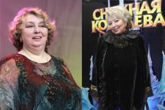 Где смотреть Пусть говорят как похудела Татьяна Анатольевна Тарасова?